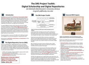 DRS Project Toolkit Poster Thumbnail